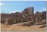 HUIHUI.co España Anfiteatro Tarragona Rompecabezas para adultos Niños 1000 piezas Juego de...