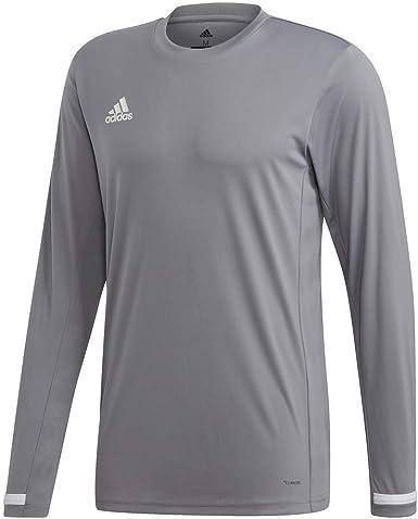 Amazon.com: adidas Male Team 19 Long Sleeve Jersey : Clothing ...