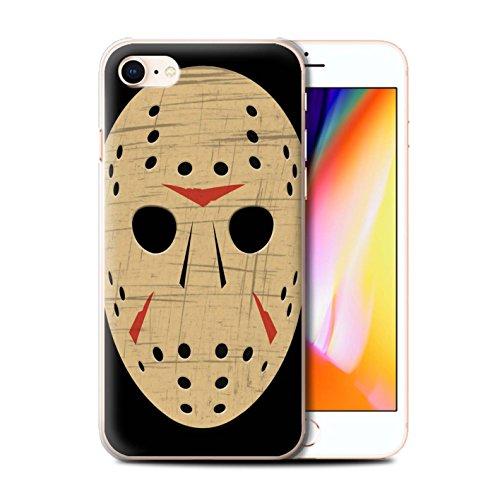 Stuff4 Telefoonhoesje/Cover/Skin/IP-CC/Horror Movie Kunstcollectie Apple iPhone SE 2020 Jason Vorhees Masker Geïnspireerd