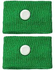 VEILTRON 2 st sjukdom armband anti-illamående bil båtar armband lindrar anti-rörelse sjukdom handledsrem återanvändbar justerbar