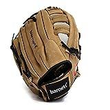 barnett france SL- Gant de Baseball Cuir Pigskin Leather, Marron (130, REG (Se Porte à la Main Gauche))