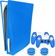 $22 » Sponsored Ad - KJ-KayJI PS5 Silicone Skin Cover PS5 Controller Silicone Skin Cover, Dustproof Anti-Scratch Anti-Fall Water...