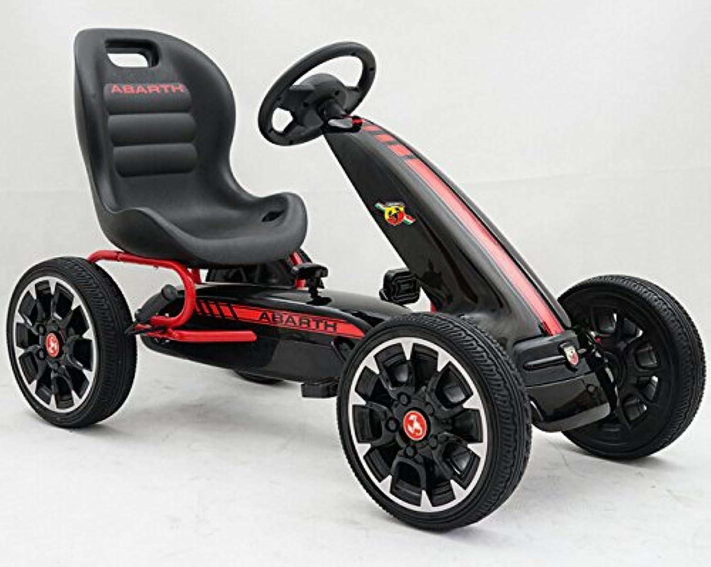 entrega rápida KART A PEDALES PEDALES PEDALES FIAT ABARTH negro  100% a estrenar con calidad original.