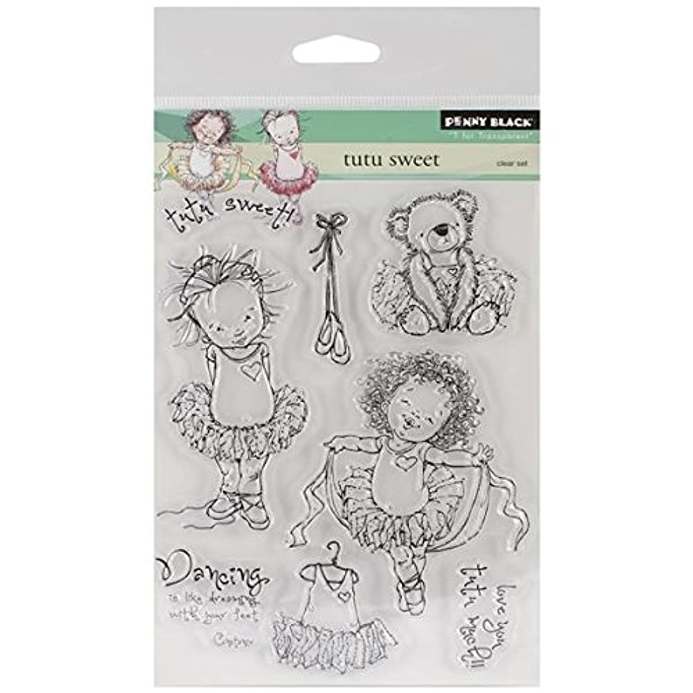 Penny Black Decorative Rubber Stamps, Tutu Sweet (30-154)