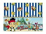 Yo Ho Ho en Plastique Disney Jake et Les Pirates du Pays Nappe, 1,8m x 1,2m