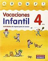 VACACIONES INFANTIL 4 AÑOS - 9788468087559