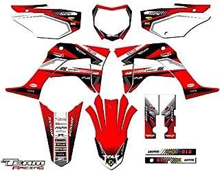 Team Racing Graphics kit compatible with Honda 2019-2020 CRF 125, ANALOG