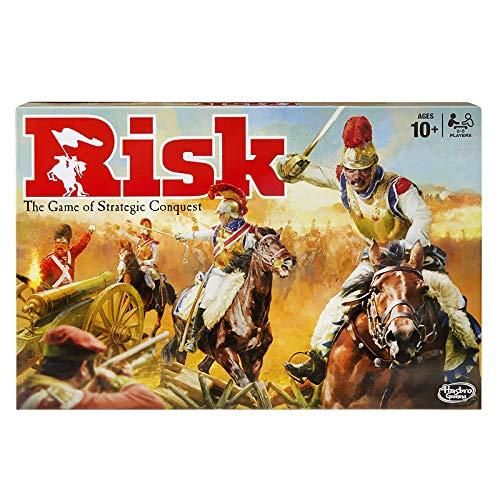 GGSDDDUP Risk Board Kartenspiel - Strategic Conquest, Klassisches Kampfspiel - Fun Familie Freunde Interactive Brettspiele