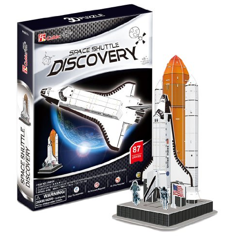 3D three-dimensional puzzle space shuttle Discovery (japan import)