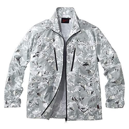自重堂 Jawin 空調服長袖ジャケット 54050 シャイニーシルバーカモフラ Lサイズ