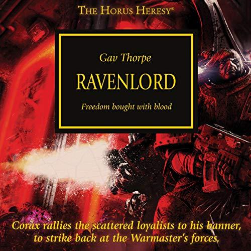Ravenlord audiobook cover art