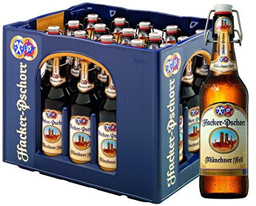 Hacker-Pschorr - Münchner Hell - 20x0,5l Kiste - 5,0% Vol. inc. 3.00€ MEHRWEG Pfand