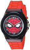 Marvel Spider-Man Kids' SPD9031 Analog Display Analog Quartz Red Watch