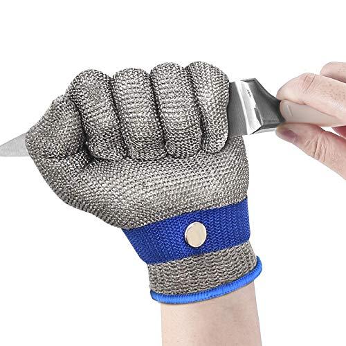 Schnittfester Handschuh Stufe 9 Edelstahl Mesh Metzger Sicherheit Arbeit für Fleisch