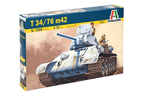 Italeri 510007008 - 1:72 T 34/76 Russischer Panzer
