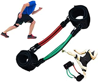 HYID Kinetic Speed Agility Training Leg Running Resistance Bands Tubes Exercise for Athletes Football Basketball Players