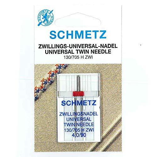 3 Zwillingsnadel Doppel Nadel Universal 130//705 H ZWI 2,0//80 Twin Needle NEU OVP