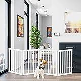 Best Dog Gates - PETMAKER Freestanding Pet Gate 4 Panel Cream Review