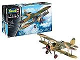 Revell-Revell-03846 Gloster Gladiator MK. II, Escala 1:32 Kit de Modelo de plástico, Color sin Pintar (03846)
