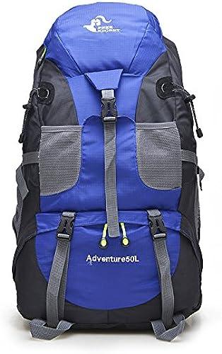SQI de plein air sac à dos, sac d'épaule, hommes et femmes riding sports alpinisme 50L sacs de voyage