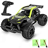 MISSLFJY Remote Control Car High Speed RC Truck Hobby Racing Car Buggy Vehicle 2.4 GHZ 1:22 Scale RC Cars, Great Toy Gifts for Kids Boys Girls with Rechargeable Batteries and Two AA Batteries