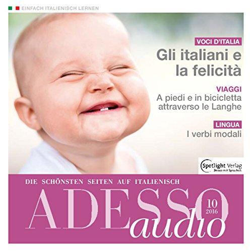ADESSO Audio - Gli italiani e la felicità. 10/2016 Titelbild