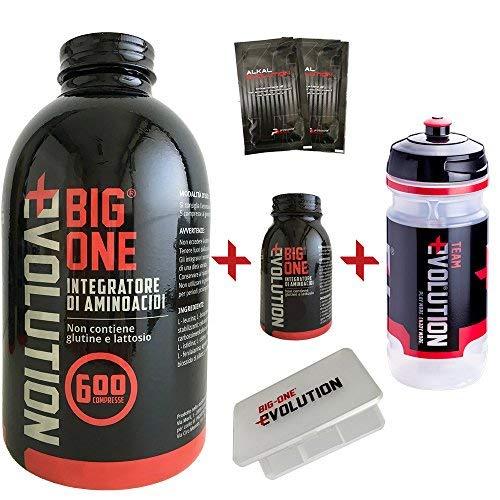 BIG ONE Evolution 600 + 50 Compresse Omaggio Aminoacidi Essenziali + Shaker e Pre Workout