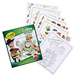 Crayola Toy Story 4 Coloring Pages & Stickers, Gift for Kids, Age 3, 4, 5, 6, 7, Multi