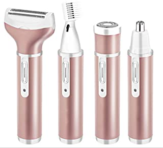 Facial Hair Remove,4 in 1 Epilator for Hair Removal Lady