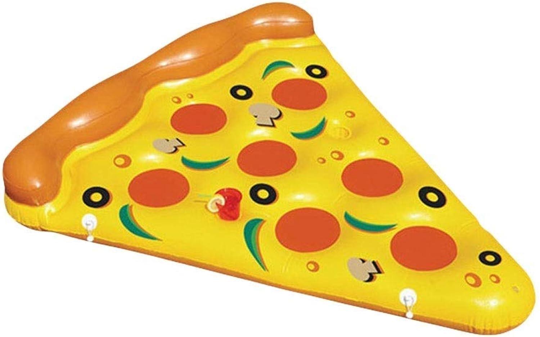 el estilo clásico Selm Colchon Inflable Forma de de de Pizza Silla de Salón Tumbonas Juguete de Agua Cojín Inflable Piscina Al Aire Libre Juguete para Niños Y Adultos  mejor moda