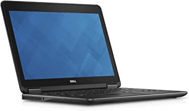 Dell Latitude E7240 12.5 Inch Thin, Lightweight Ultrabook Intel Core i5-4300U (4th Gen) 8GB RAM, 120GB SSD, HDMI, Bluetooth, Webcam, Windows 10 Professional (Renewed)
