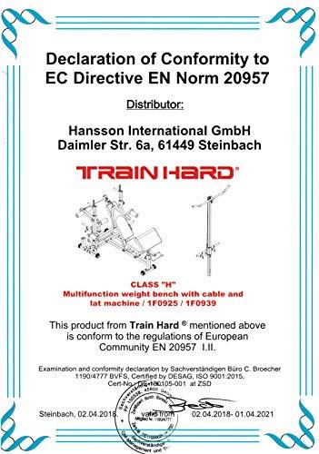 TrainHard Universal Trainingsbank Kraftstation Bild 6*