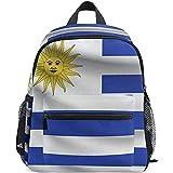 Yuanmeiju Travel Backpack Uruguay Flag Toddler Preschool Backpack Comfortable Shoulder Daypacks for Travel Climbing 40cm(H) x29cm(W)
