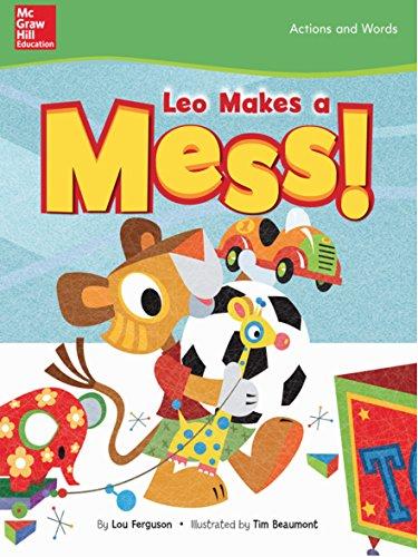 Leo Makes a Mess (Below Level, Grade K) (English Edition)