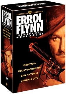 Errol Flynn Westerns Collection: (Montana / Rocky Mountain / San Antonio / Virginia City)