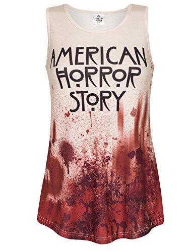 American Horror Story Crema Sin Mangas de Las Señoras de La Sangre - XL