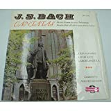 SANDOR/HAMARI/RETI/LEHOTKA cantatas 161-169 BACH LP 1966 Qualiton