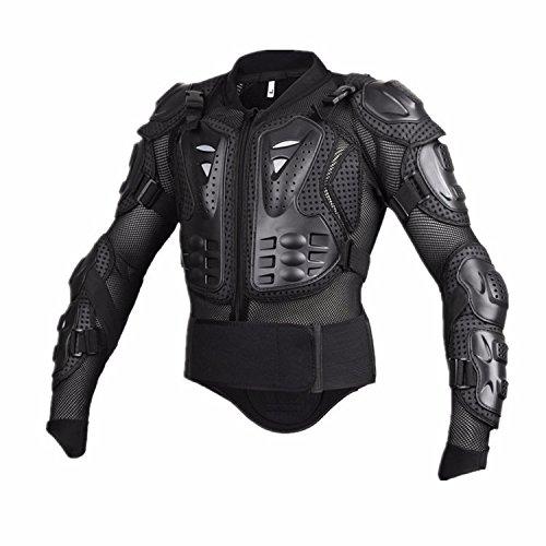 Motorcycle Full Body Armor Protective Jacket Guard ATV Motocross Gear Shirt Black Size XXXL For Honda VTX 1300 1800 Valkyrie Rune 1500