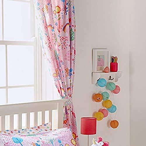 Unicorn Riva Home Vorhänge 12396918 , Rosa, 66x72 (168x183cm)