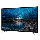 Home appliances Smart TV 4K UHD De 42 Pulgadas con WiFi, TV LCD De Pantalla Plana Ultrafina con Pantalla De Cristal Templado, Interfaz Externa Rich TV, Soporte De Pared Incluido