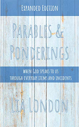 Parables and Ponderings: when God speaks to us through everyday items and incidents