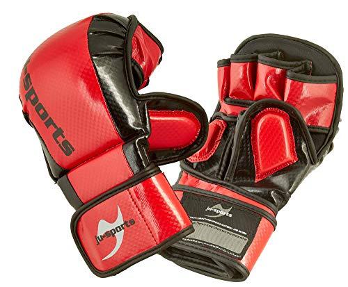 Ju-Sports MMA/Allkampf Sparring Handschuh Carbon rot (S)
