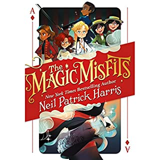 The Magic Misfits audiobook cover art