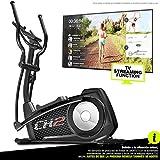Sportstech CX2 Bicicleta elíptica con aplicación para Smartphone, Kinomap, generador eléctrico Integrado, Bluetooth,...