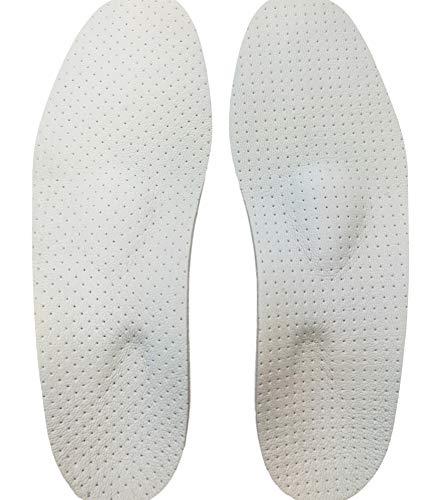 GreenFeet Basic Ortho Komfort Einlegesohle Schuheinlagen mit Fersen Entlastungskern bei Senkfuß Spreizfuß Fersensporn Plantar Fasciitis Damen Herren (46 EU)