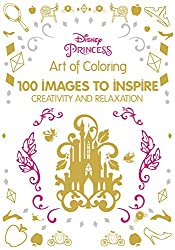 Art of coloring disney .. disney princesses coloring book