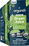 Organifi: GO Packs - Green Juice - Organic Superfood Supplement Powder - 14 Servings - Organic Vegan Greens - Hydrates and Revitalizes - Supports Weight Management and Stress Relief