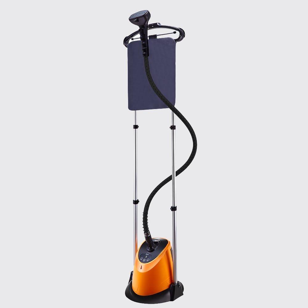 LJHA Prenda de Vapor de la Ropa Prenda de Vapor de la Ropa Plancha de la Ropa de la casa Que Plancha la máquina de Mano de Hierro Vertical Naranja Buque de Vapor