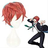 BELUNOT Anime Division Rap Battle Hypnosis MIC Doppo KannonzaKa Wigs Heat Resistant Synthetic Hair Cosplay Costume Wig + Wig Cap