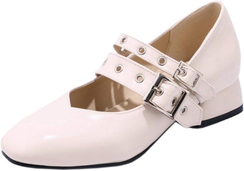 Unm Women's Low Heel Mary Jane shoes